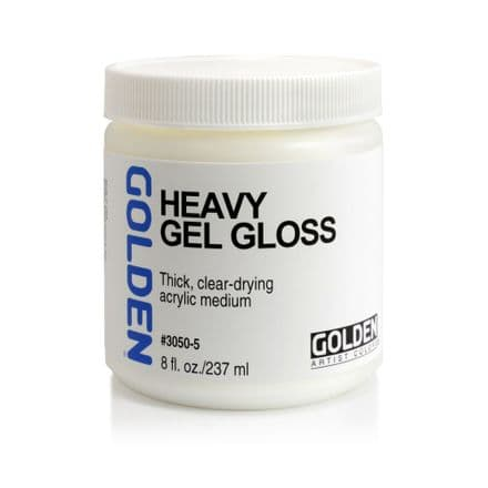 Golden Acrylic Heavy Gel Gloss Medium 237ml