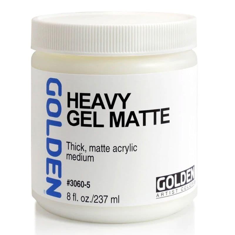 Golden Acrylic Heavy Gel Matte Medium  237ml