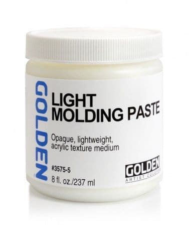 Golden Acrylic Light Molding Paste 237ml