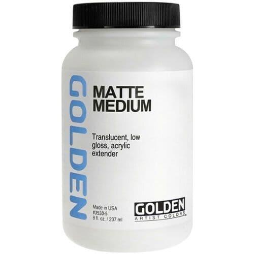 Golden Acrylic Matte Medium 237ml