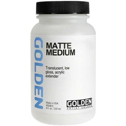 Golden Acrylic Matte Medium 237ml