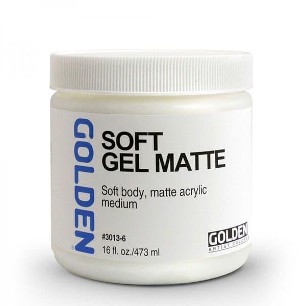 Golden Acrylic Soft Gel Matte Medium 237ml