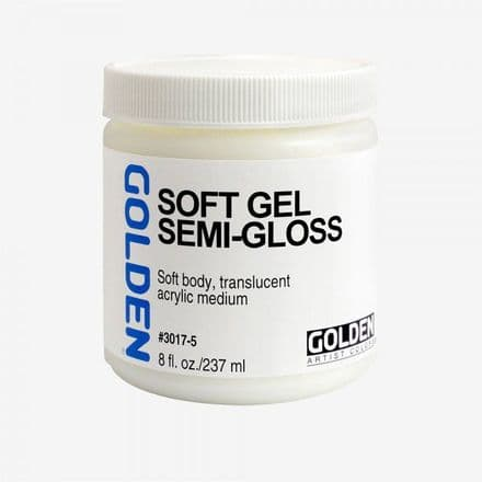 Golden Acrylic  Soft Gel Semi-Gloss Medium 237ml