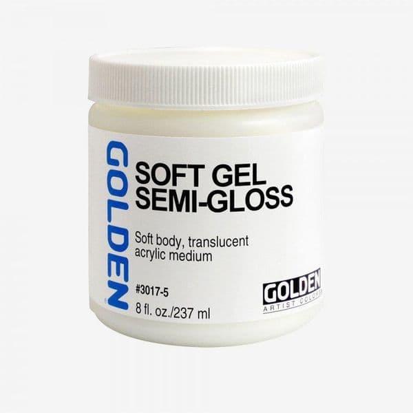 Golden Acrylic  Soft Gel Semi-Gloss Medium 237ml