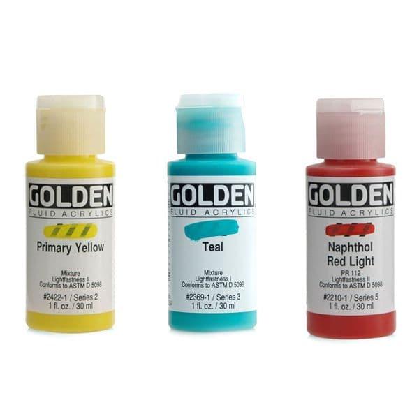 GOLDEN Fluid Acrylic Paint 30ml