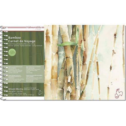 "Hahnemuhle Bamboo Carnet de Voyage 15.3 x 25cm (6.0 x 9.8"")"