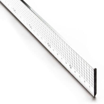 Jakar Acrylic Ruler with Steel Edge 60cm