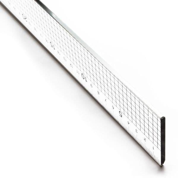 Jakar Acrylic Ruler with Steel Edge 60cm
