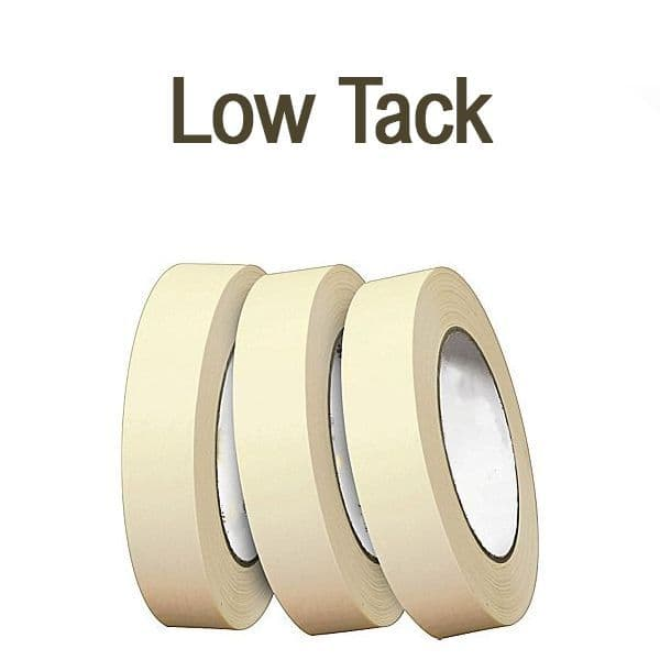 Low Tack Masking Tape