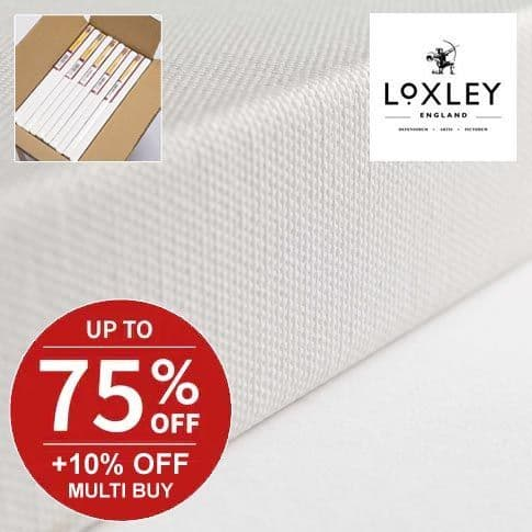 Loxley Gold Chunky Cotton Canvas Box Quantities