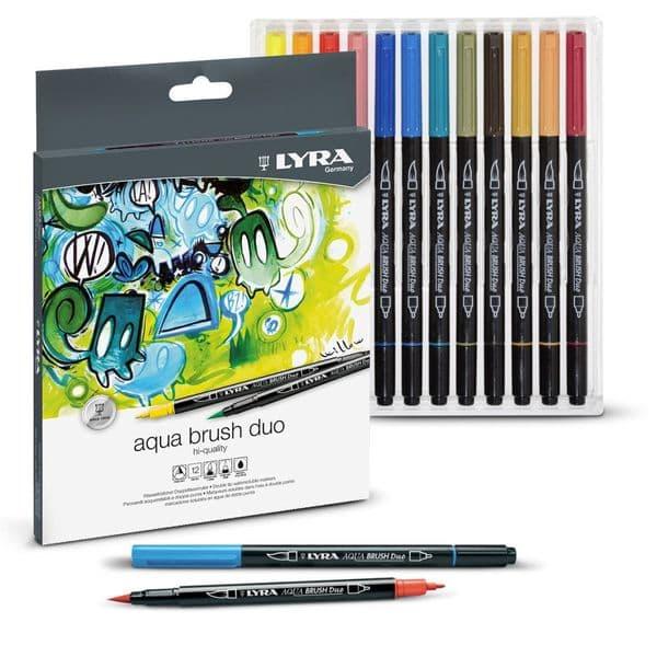 Lyra Aqua Brush Duo Pen Sets