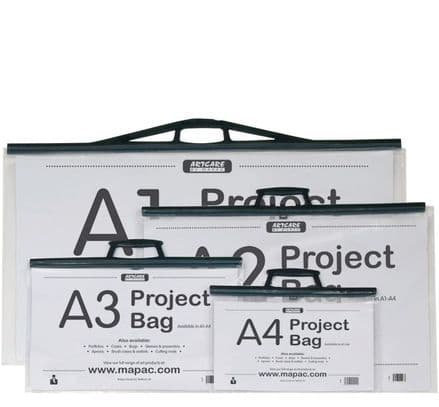 Mapac Project Bags Packs of 3