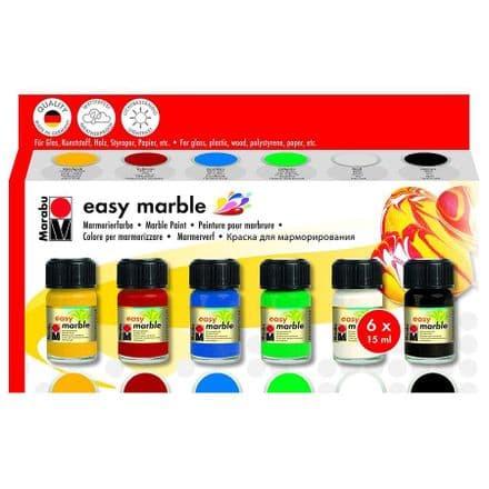 Marabu Easy Marble Colours set