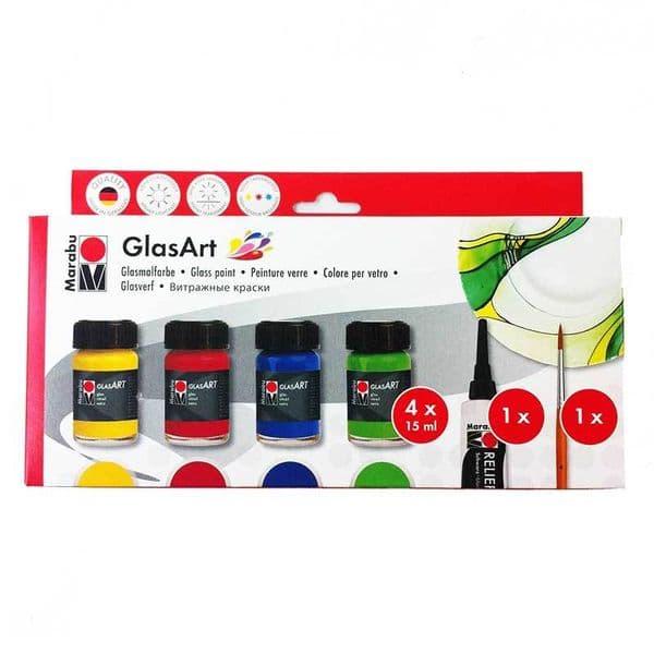 Marabu Glassart Colours Set