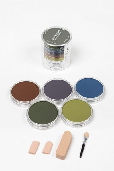 Pan Pastel Extra Dark Shades Set