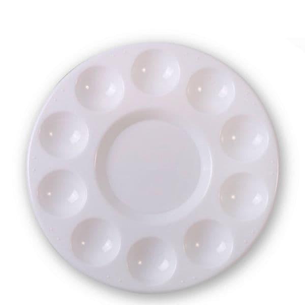 Plastic Circle Watercolour Palette