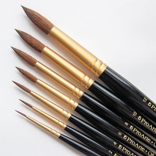 Pro arte 110 Sablene Round Brushes