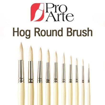 Pro Arte Series B Hog Round Brush