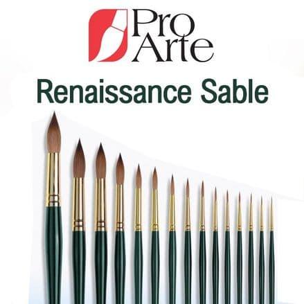 Pro Arte Series RS Renaissance Round Sable Brush