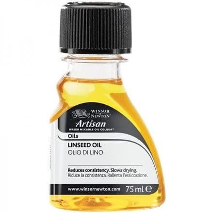 Winsor and Newton Artisan Water Mixable Linseed Oil 75ml