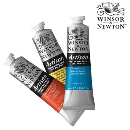 Winsor and Newton Artisan Water Mixable Oil Paint 37ml Tubes