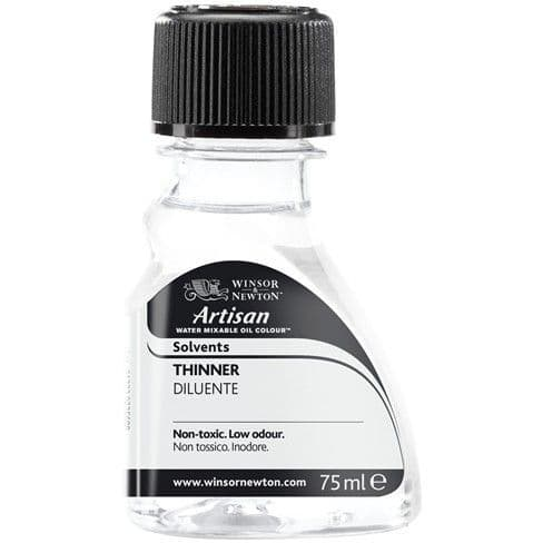 Winsor and Newton Artisan Water Mixable Oil Thinner 75ml