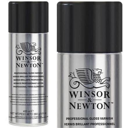 Winsor and Newton Artists' Gloss Varnish Aerosol