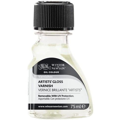 Winsor and Newton Artists' Gloss Varnish  for Oil