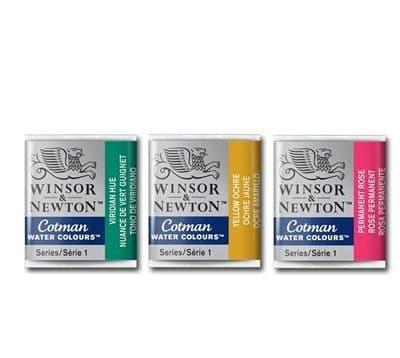 Winsor and Newton Cotman Watercolours Half Pans