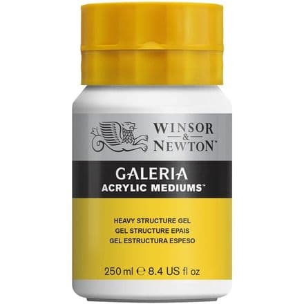 Winsor and Newton  Galeria 250ml Heavy Structure Gel