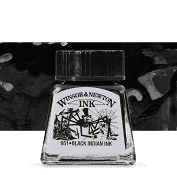 Winsor and Newton Indian Black Ink 30ml