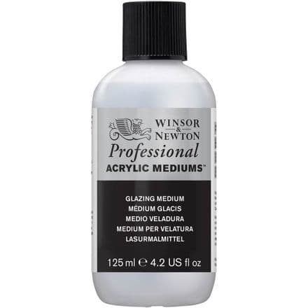 Winsor and Newton Professional  Acrylic  125ml Glazing Medium