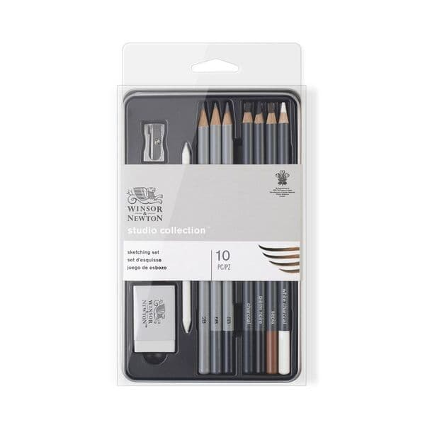 Winsor and Newton Studio Collection Sketching Pencil Set