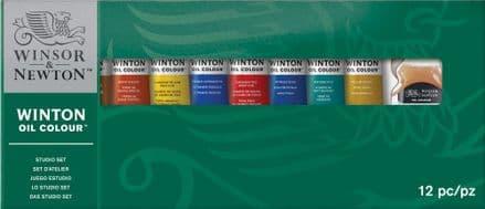 Winsor and Newton Winton Oil Colour Studio Set