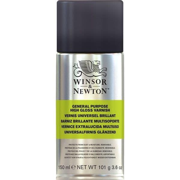 Winsor & Newton All Purpose Gloss Varnish Aerosol 150ml