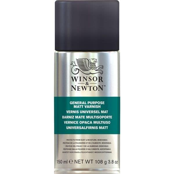 Winsor & Newton All Purpose Matt Varnish Aerosol 150ml