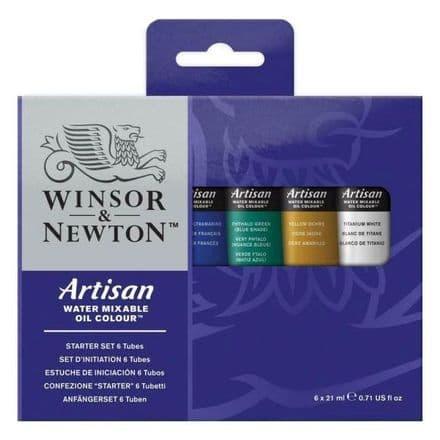 Winsor & Newton Artisan  Oil Colour Paint Beginners Set
