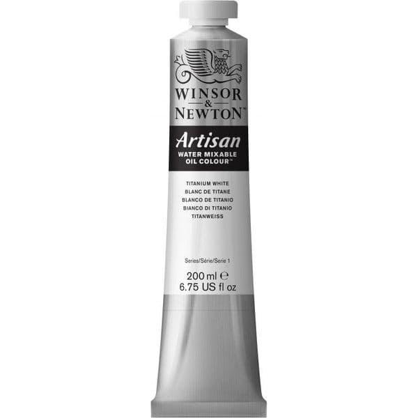 Winsor & Newton Artisan Water Mixable Oil Paint 200ml Tubes