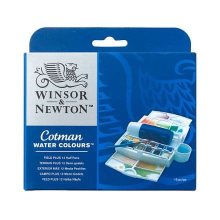 Winsor & Newton Cotman Watercolour Field Plus set
