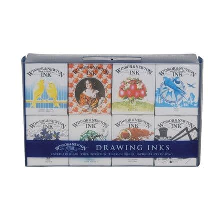 Winsor & Newton Drawing Ink Set Henry Collection