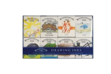 Winsor & Newton Drawing Ink Set William  Collection