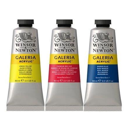 Winsor & Newton Galeria Acrylic Tubes 60ml