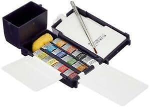 Winsor & Newton Professional Watercolour Half Pan Field Box