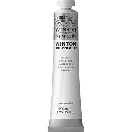 Winsor & Newton Winton Oil Colour 200ml White