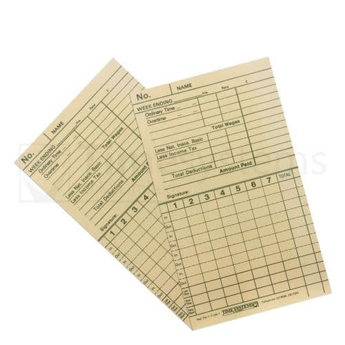 103464 Time Clock Cards