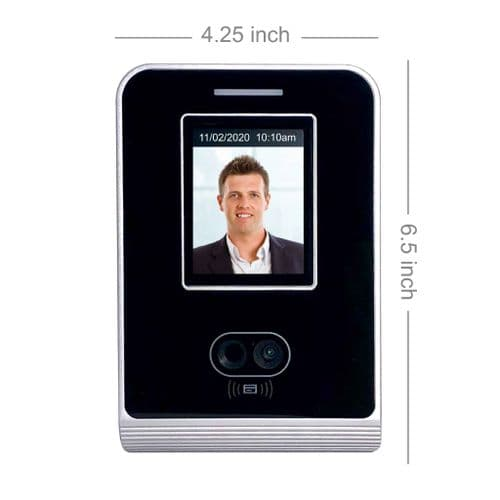 GeoFace 100 with Wifi | 'Pro' Face recognition biometric clocking in machine | Non-Contact (1)