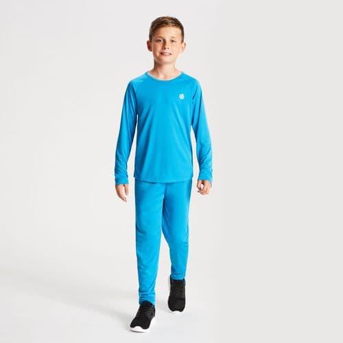 Kids' Elate Base Layer Set Atlantic Blue