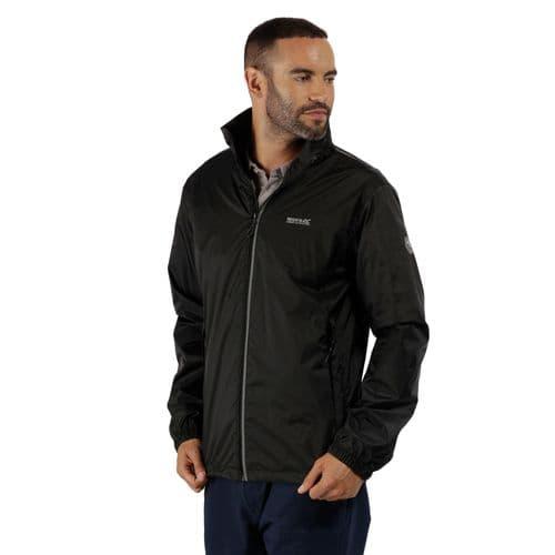 Men's Lyle IV Lightweight Waterproof Jacket Black