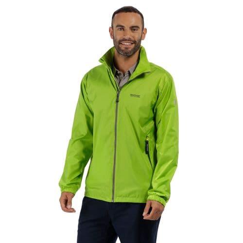 Men's Lyle IV Lightweight Waterproof Jacket Lime Green