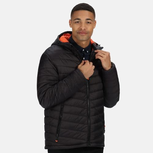 Men's Thermogen Powercell 5000 Insulated Quilted Heated Jacket Black